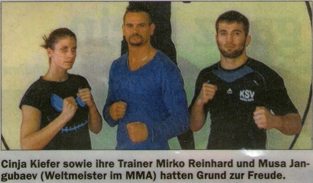 Cinja Kiefer, MMA, Offenburg, Ortenau, Fight Gym, Kickboxen, Kampfsport, Boxen