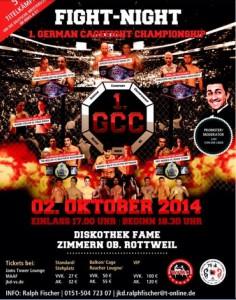 german cagefight championship, rottweil, fame diskothek