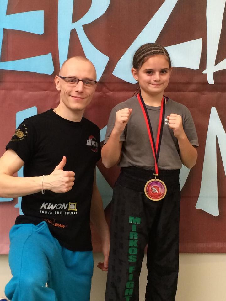 lara litters wku deutsche mesterschaft kickboxen leichtkontakt 2014